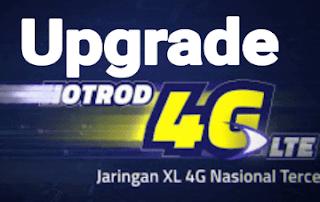 Cara Upgrade Sendiri Kartu XL 3G menjadi 4G LTE