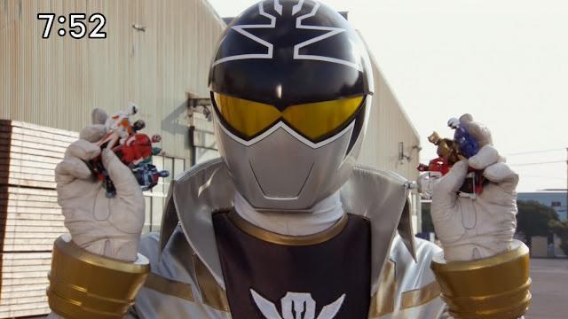 Irsyad's Way: Super Megaforce's Silver Ranger Spotted On Set!
