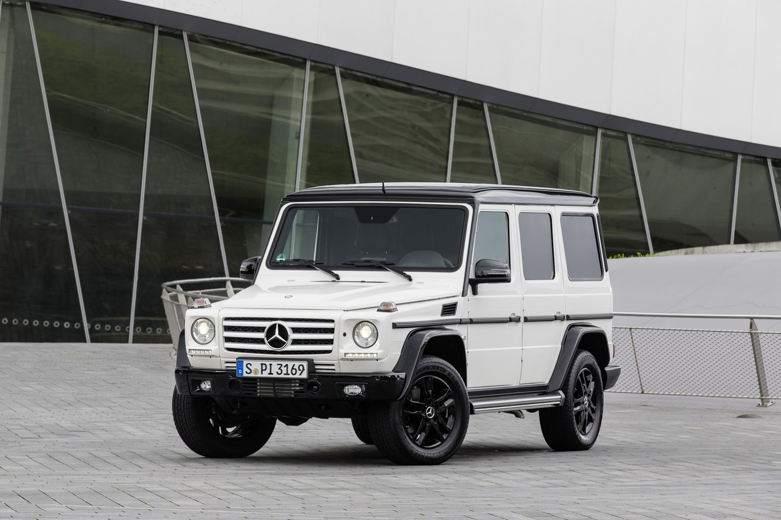 mercedes says happy birthday g class with new edition 35. Black Bedroom Furniture Sets. Home Design Ideas