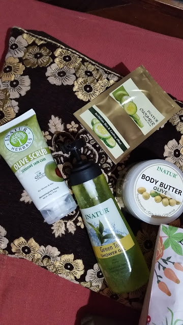 Inatur beauty products