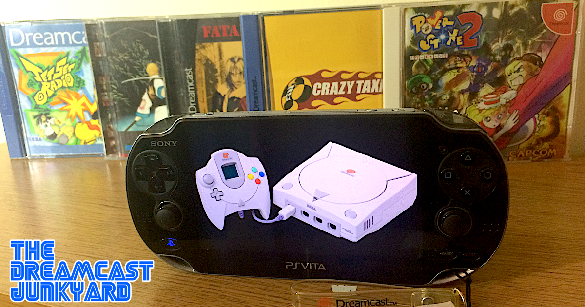 The Dreamcast Junkyard: Dreamcast On The Go With PlayStation