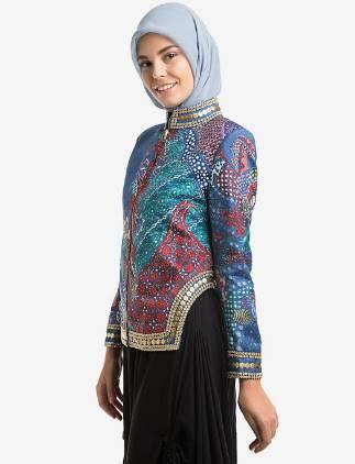 baju batik muslim elegan