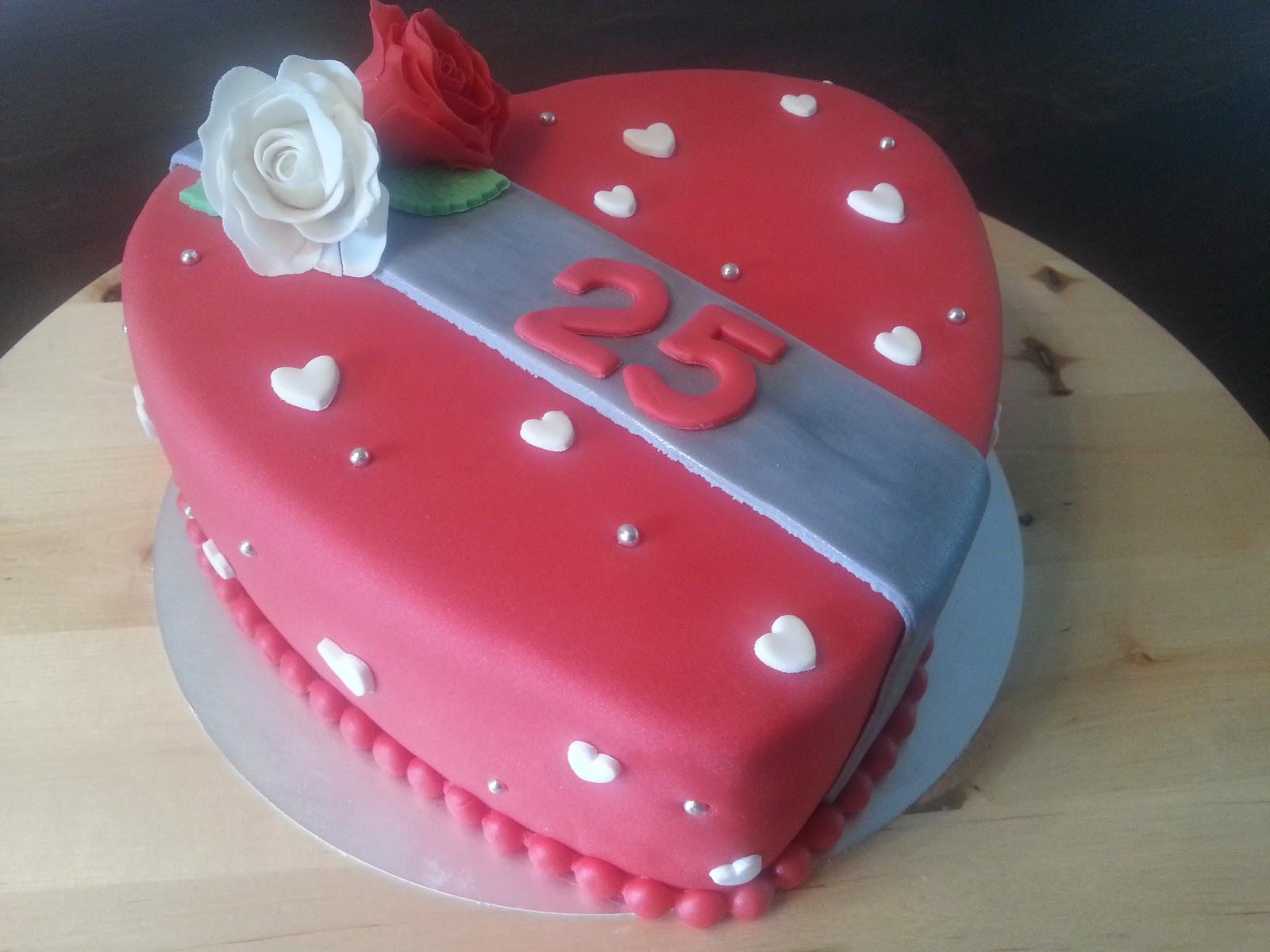 Super Liza's Taarten & Cupcakes: 25 jaar getrouwd JN-92