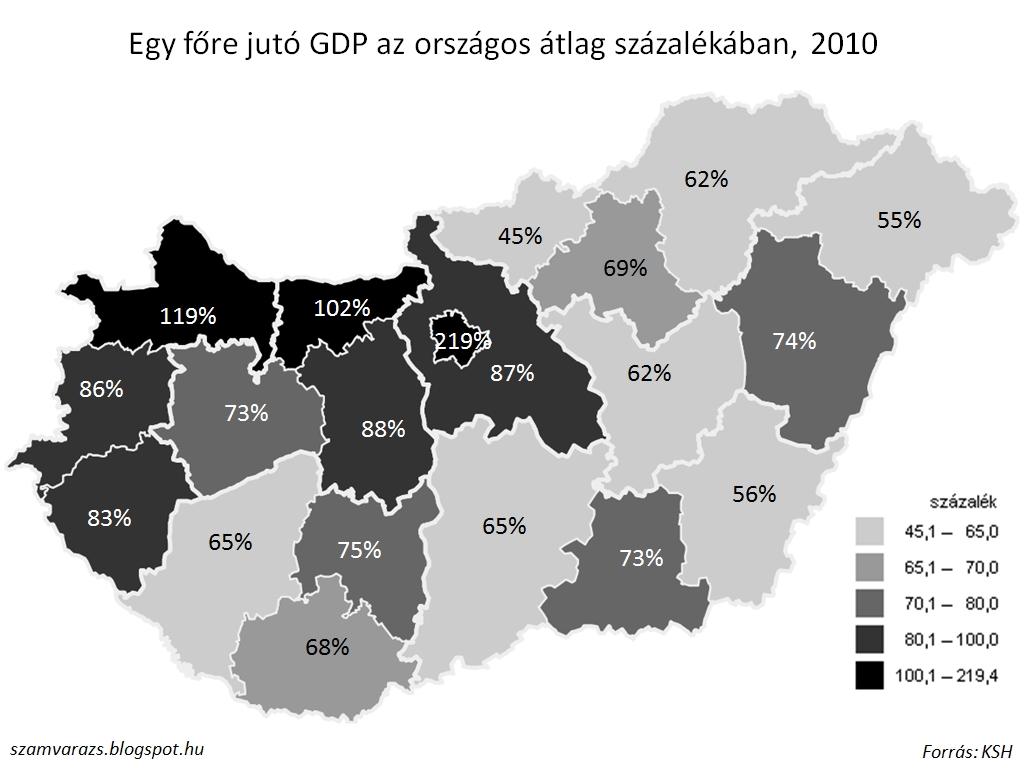 bűnözési térkép magyarország Magyarország a számok tükrében: Területi bűnözési statisztikák  bűnözési térkép magyarország
