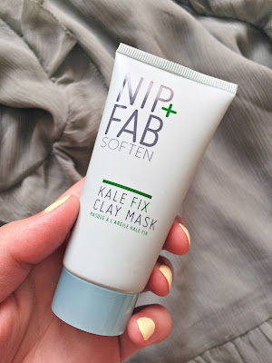 nip fab kale fix skincare moisturizer clay mask wipes makeup blogger canadian