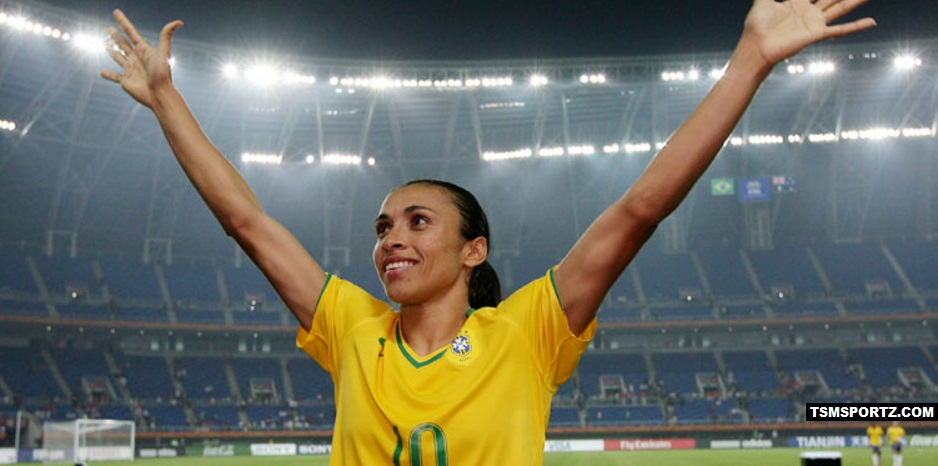 Marta Annual Salary in Football