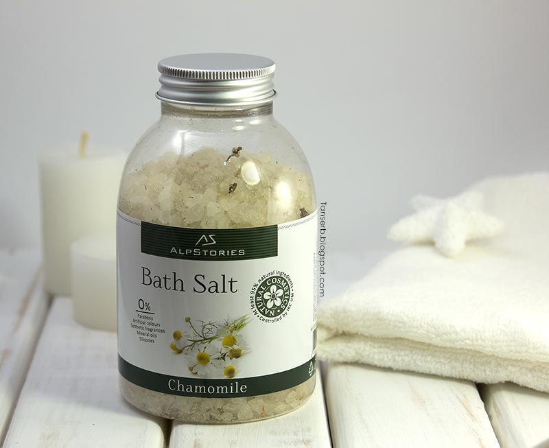 Соль для ванн Ромашка AlpStories Bath Salt Chamomile