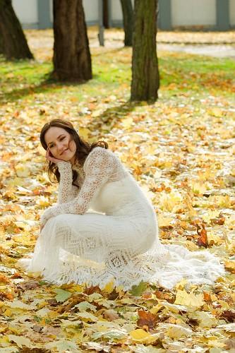Celebrity Gossip Knit Wedding Dress