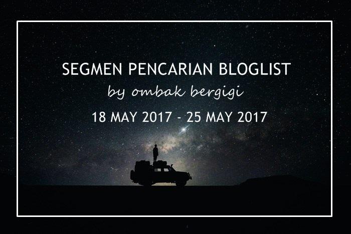 10 Pemenang Segmen Pencarian Bloglist By Ombak Bergigi