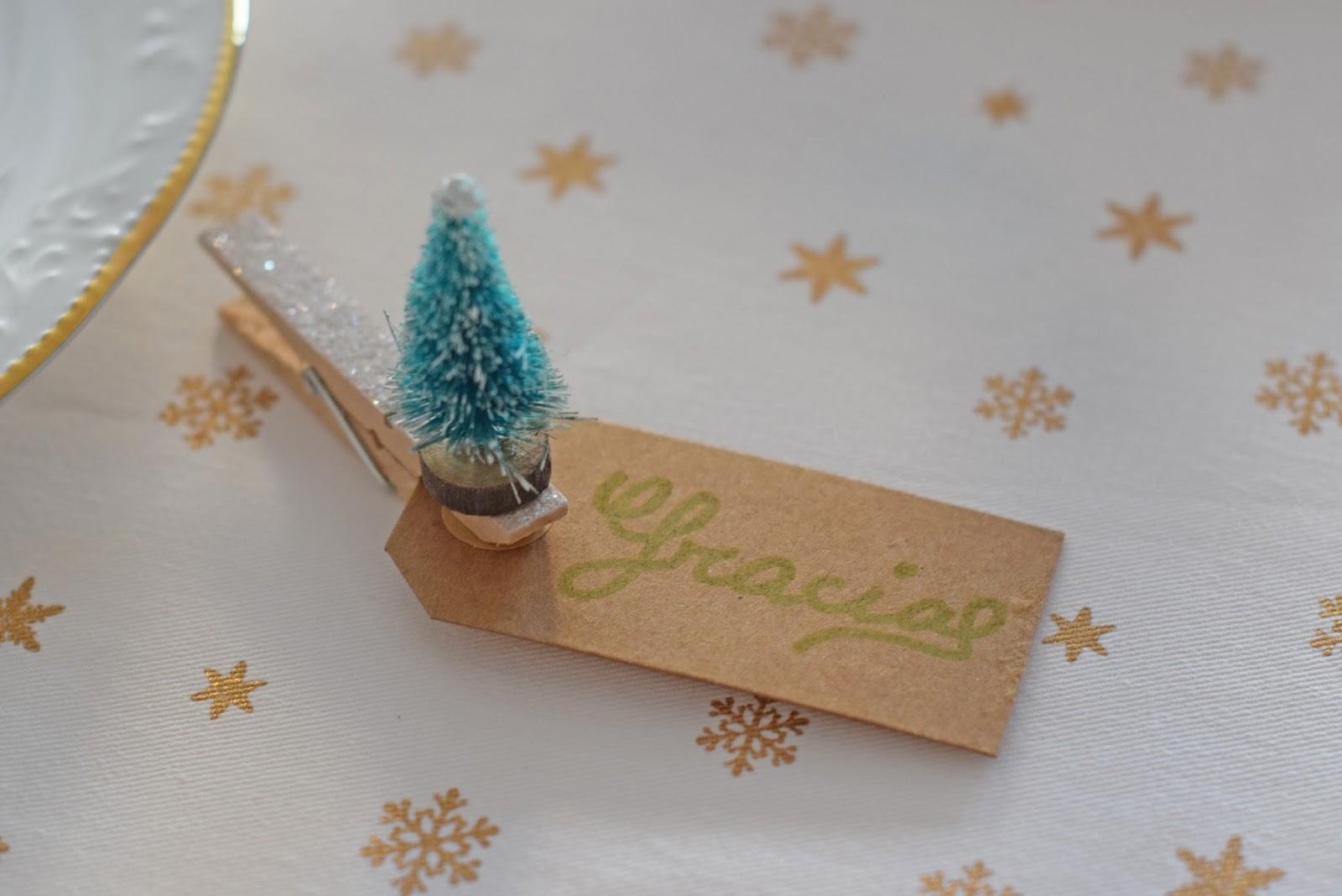Ale samaniego - Decorar mesa navidad para cena ...