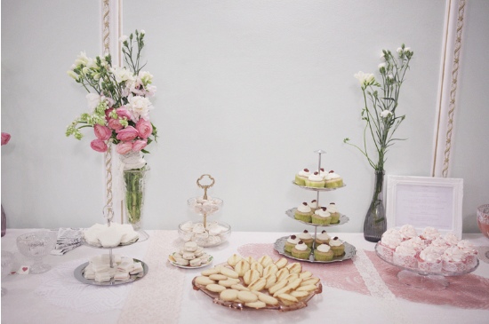 Vintage Tea Party, Nadia Manzato Wedding Couture