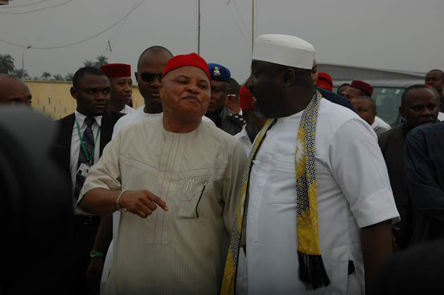 Image result for Governor Okorocha and senator araraume