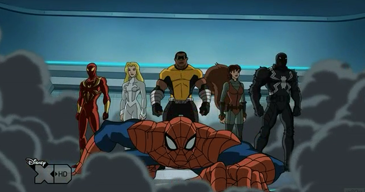 Ultimate spider man web warriors squirrel girl - photo#29