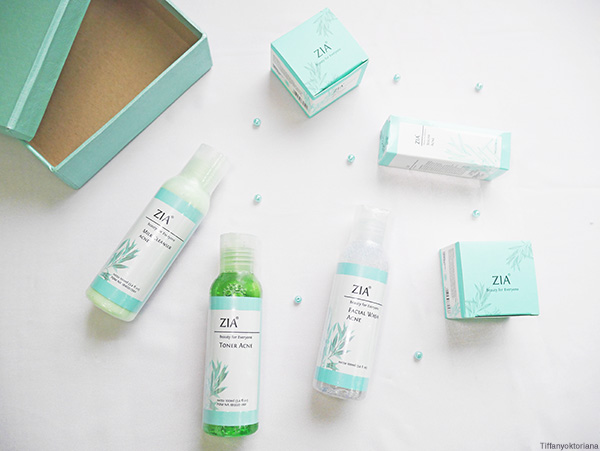 zia skin care acne