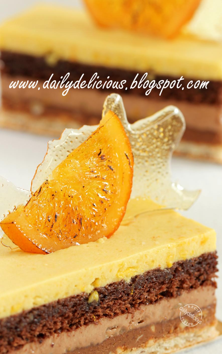 Dailydelicious Valencia Orange Chocolate And Nut