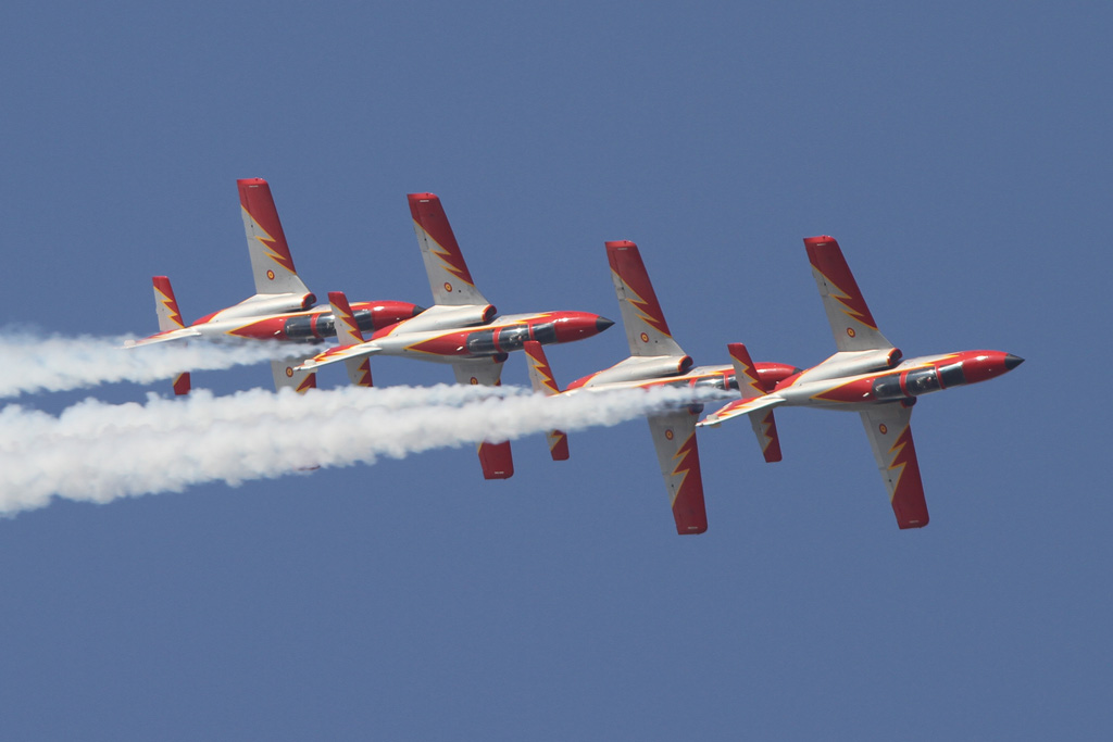 Foreign Aerobatic Display Team At Izmir Air Show In Turkey Global Military Review