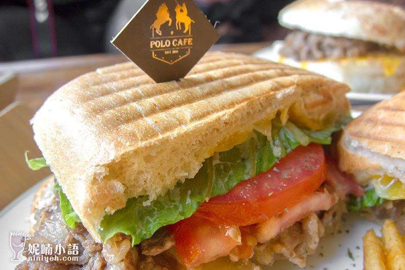 【新竹竹北美食】The Polo Cafe。馬球主題精品咖啡重磅登場