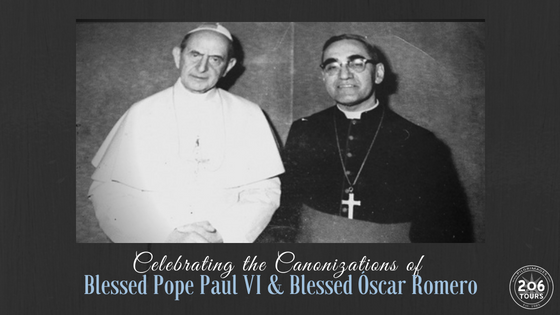 206 Tours - Pope Paul VI & Oscar Romero