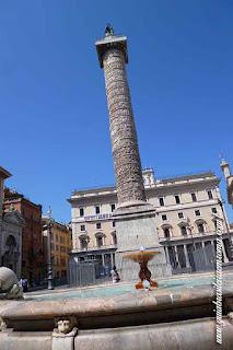 piazza colonna guia brasileira roma - Roma Store