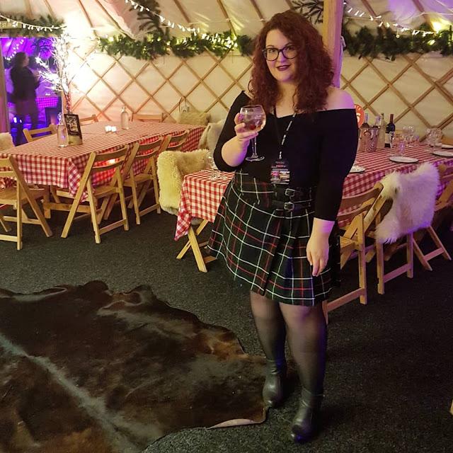 Yurt bar christmas party leeds