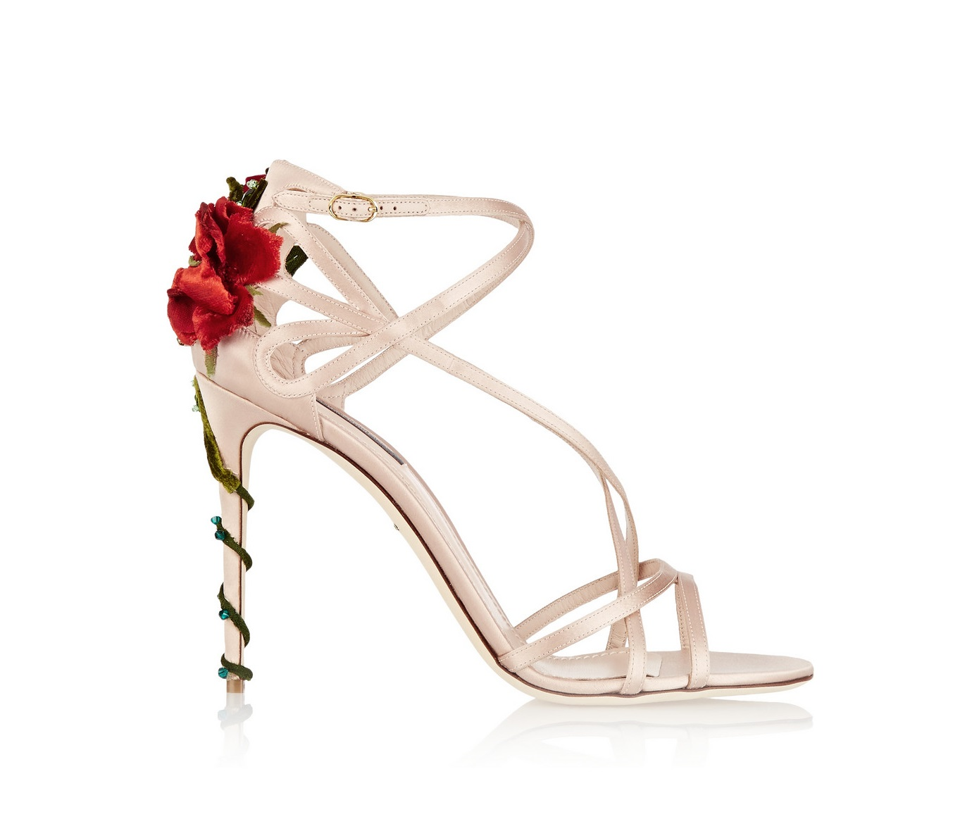 3c168a50282 Outfit Ideas : DOlce and Gabbana Rose Heels