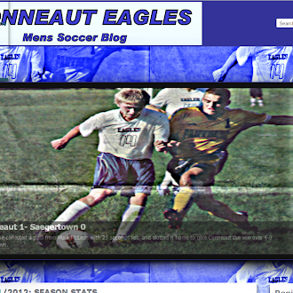 Website example: Conneaut Eagles Soccer
