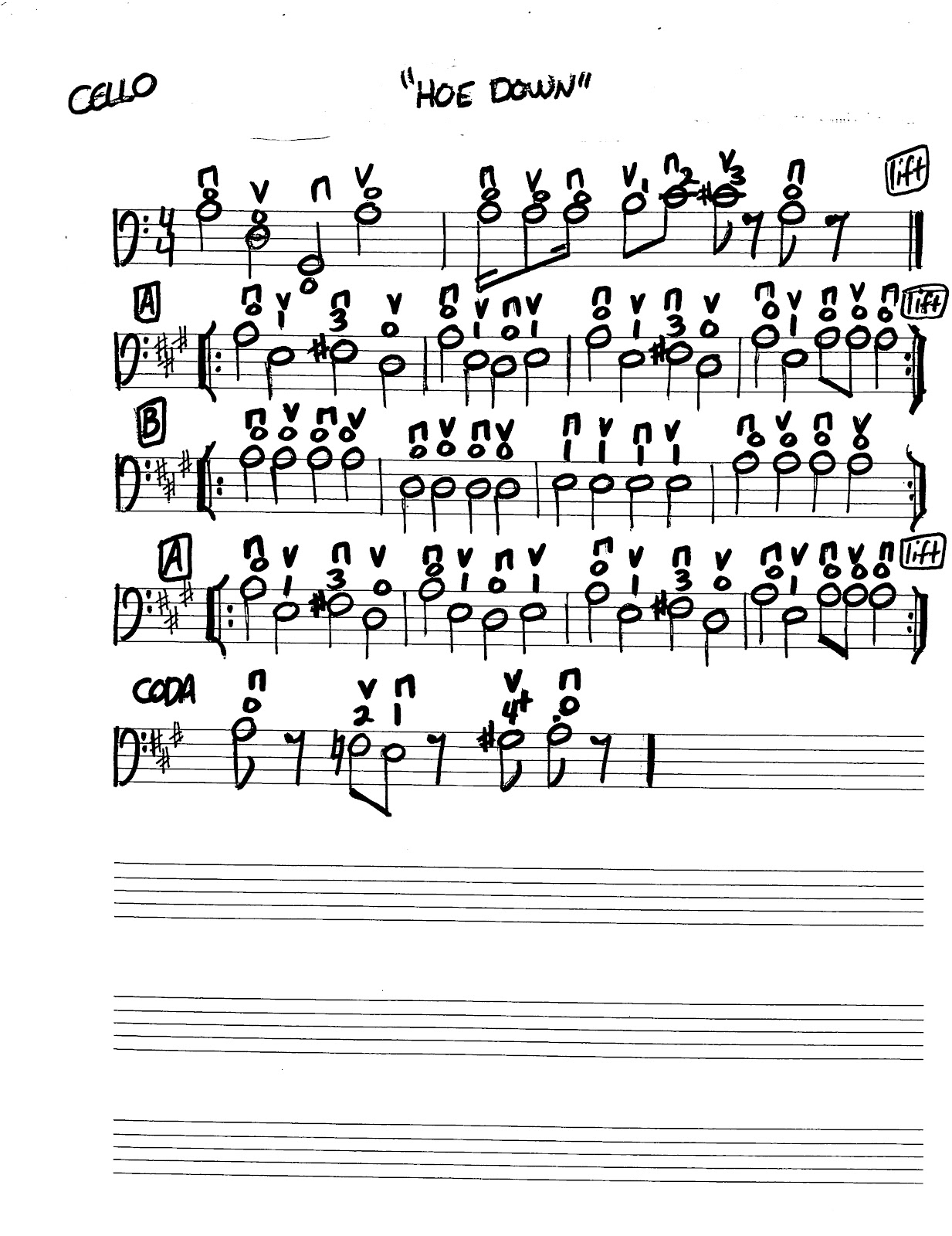 Miss Jacobson's Music: HOEDOWN MUSIC WORKSHEET REVISED