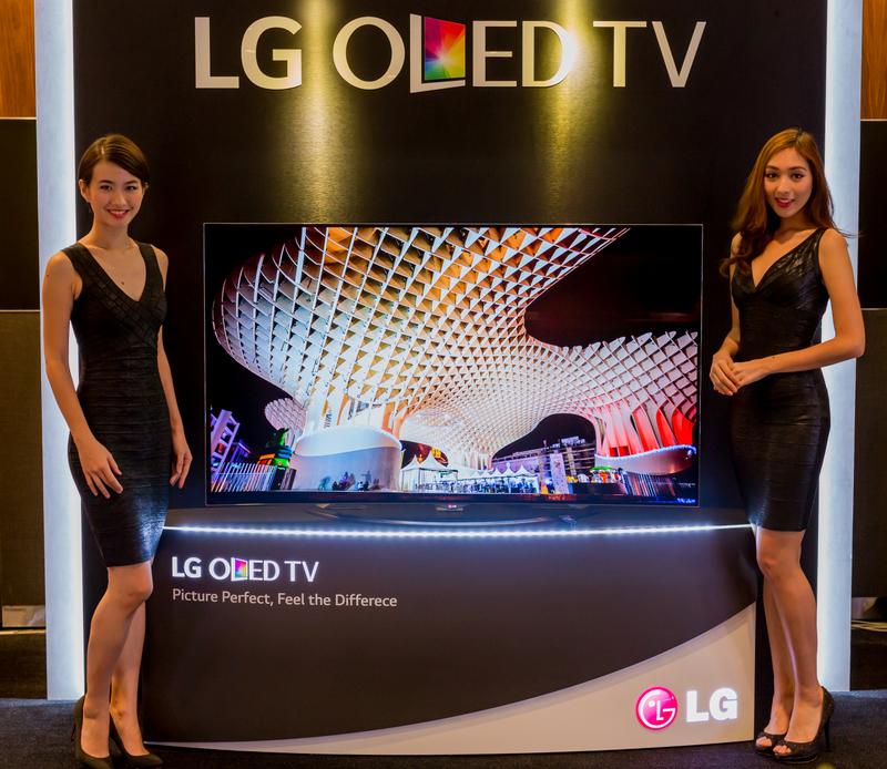 ChewyJas Media Launch LGs 2015 Ultra HD TV Lineup