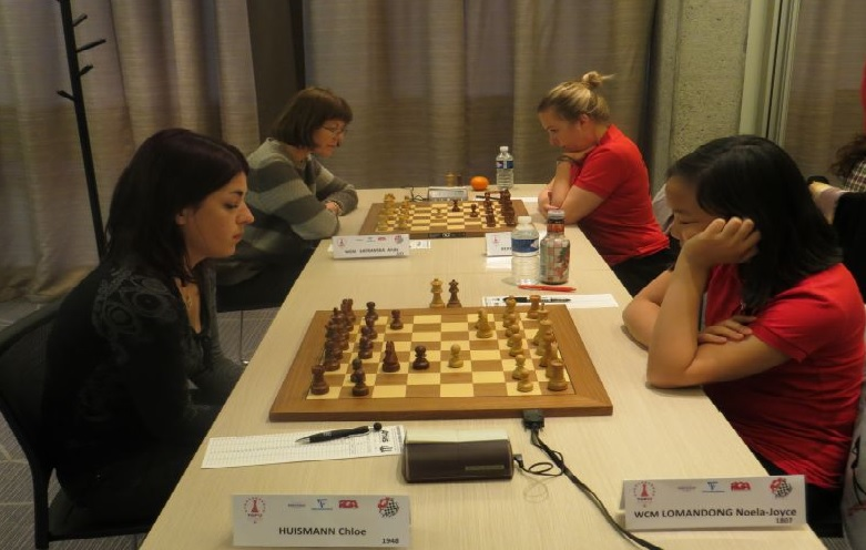 Ronde 1: Evry Grand Roque 2-1 C.E.M.C. Monaco  - Photo © Chess & Strategy