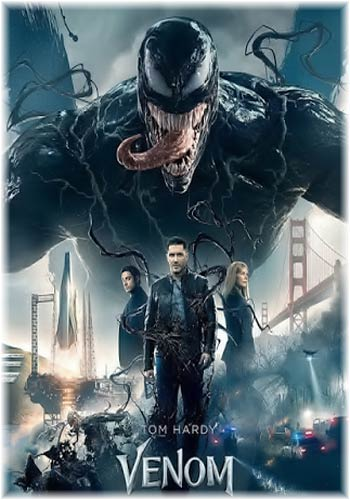 Venom 2018 Dual Audio  x264 480p BRRip 300MB