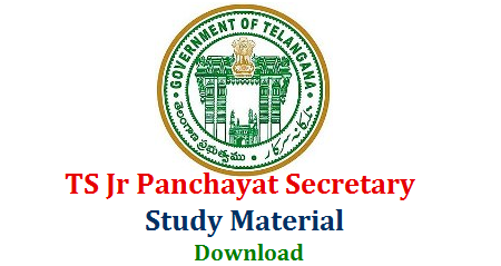 Study Material for Telangana Panchayat Secretary Recruitment exam Download here | Syllabus Exam Pattern Download for TS Junior Panchayat Secretary Posts Notification Released by Panchayat Raj and Rural Development | Study Material for General Science Disaster Management Geography and Economics of India and Telangana History Movement and Current Affairs ts-panchayat-secretary-syllabus-study-material-exam-pattern-download