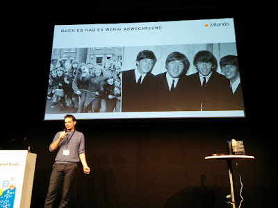 Internet World 2016: Moritz Hau von Zalando.