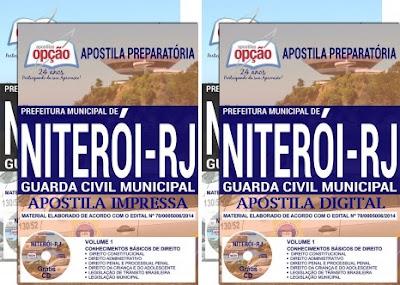 Apostila concurso GCM Niterói - Guarda Civil Municipal 2018