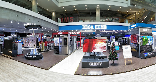 Great New Year Shopping for Electronics at Desa Home, One Space @ One City