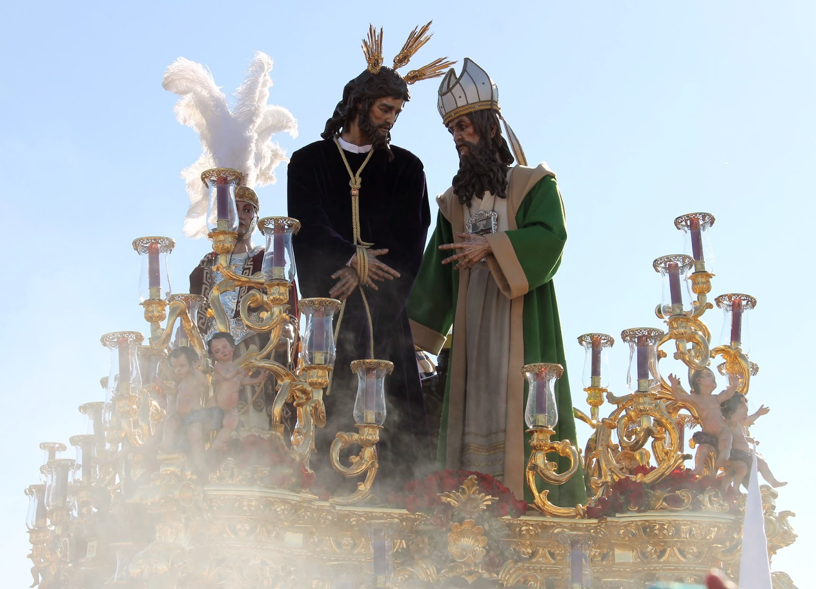 Alba y jesus en el stand de ana g en el feda - 1 part 9