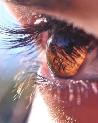 foto tumblr de ojo en el sol