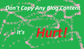 How Copying Contents from Other Blogs Dangerous for Blog SEO