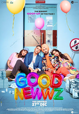Good Newwz 2019 Hindi 480p WEB HDRip 400Mb ESub x264 world4ufree