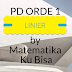 Persamaan Diferensial Linier Tingkat 1
