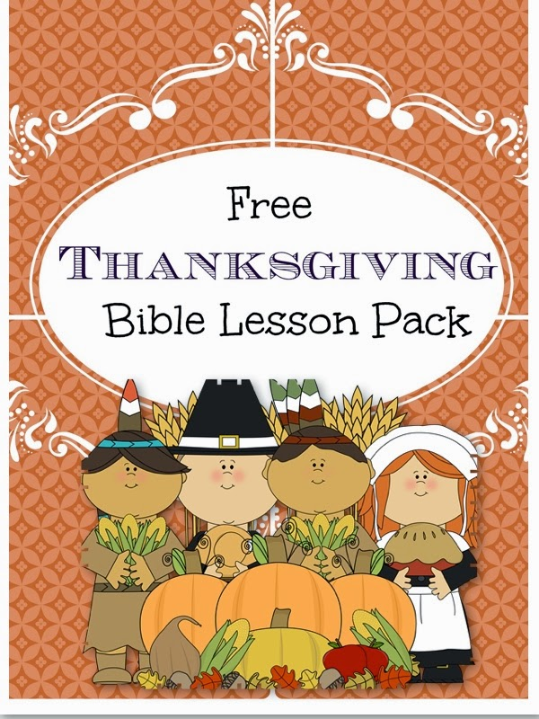 Little Pink Casa: Free Thanksgiving Bible Lesson Pack