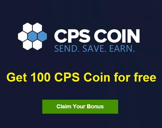 احصل على 100 CPS Coin مجانا قبل الاطلاق لفتره محدوده