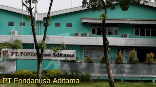 Lowongan Kerja PT Fonda Nusa Aditama Jababeka Cikarang