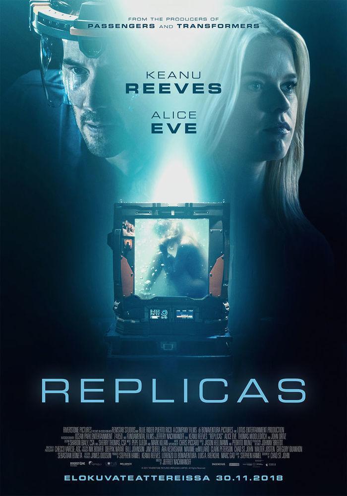 Replicas 2018 Dual Audio Hindi 350MB BluRay 480p ESubs