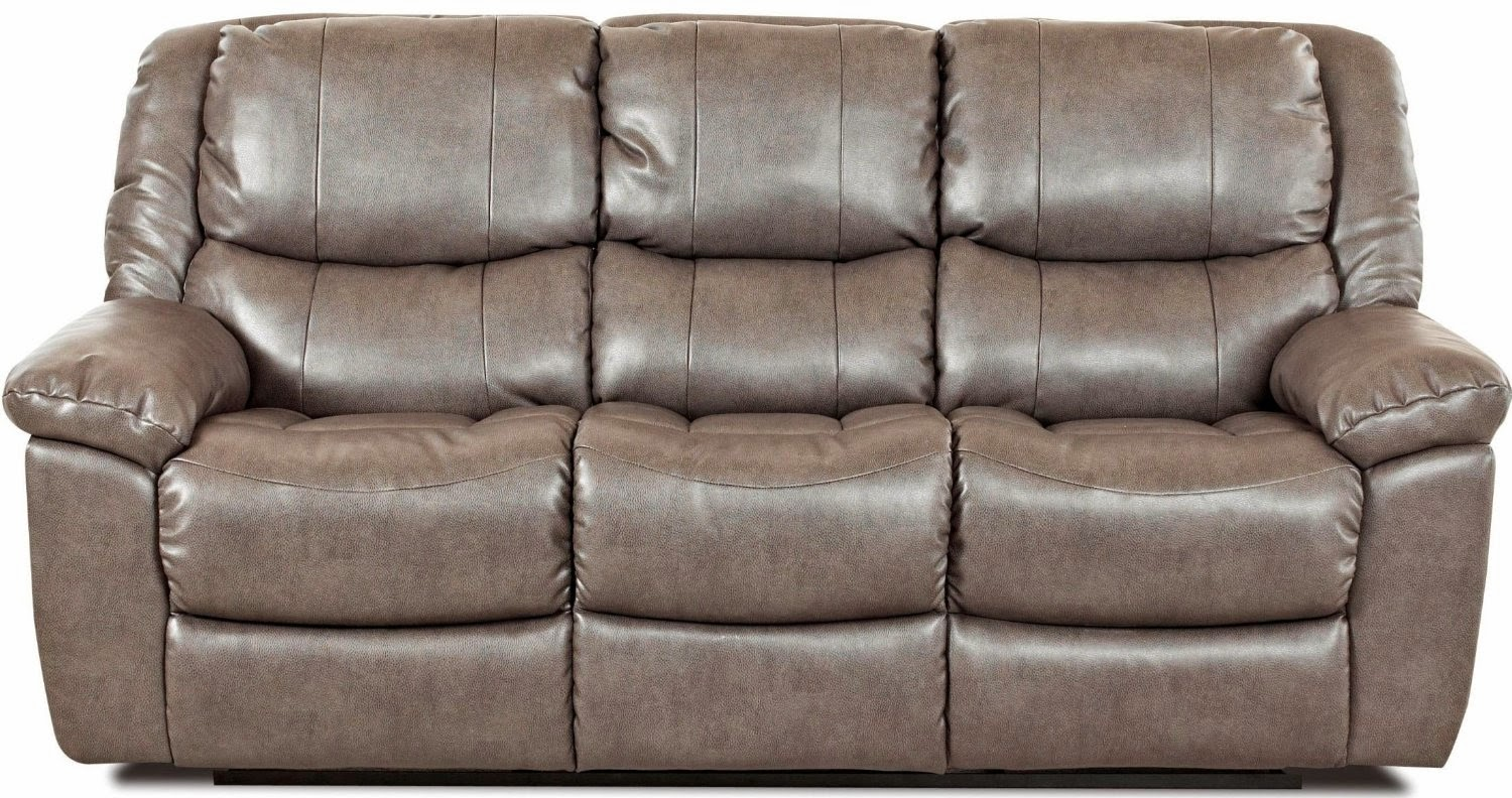 Cimarron Reclining Sofa & Best Reclining Sofa For The Money: Klaussner Bonded Leather ... islam-shia.org