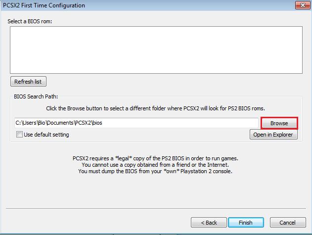 BIOS PCSX2 TÉLÉCHARGER 1.0.0 GRATUIT DE