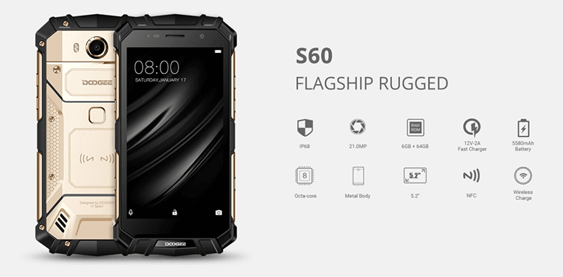 Doogee S60 With Rugged Build Teased, To Launch In PH Soon?