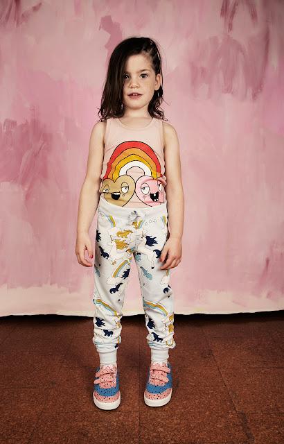Pantalón largo Unicornio de Mini Rodini