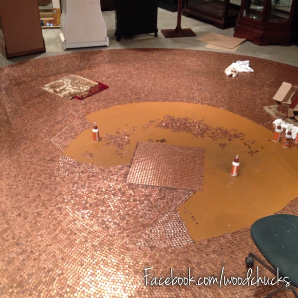 Penny Furniture: Woodchuck's Fine Furniture And Decor: This Floor Sure Is A