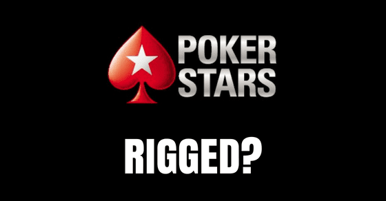 Is PokerStars Rigged?