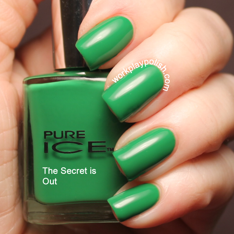Pure Ice The Secret is Out! Swatch (work / play / polish)